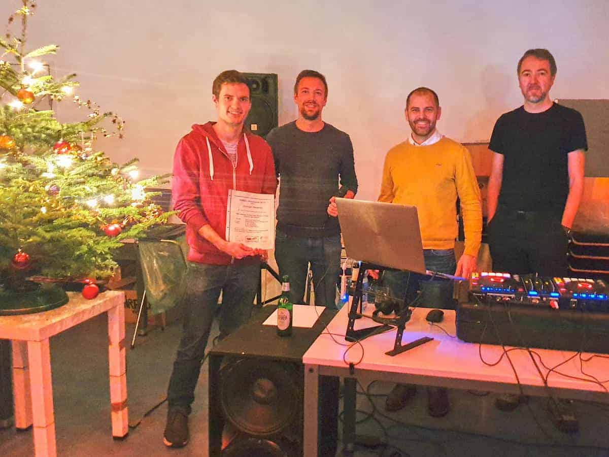 Preisverleihung Weihnachtsfeier 2019