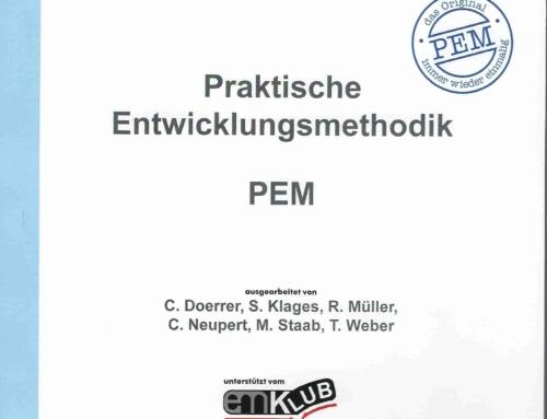"""Prof. Roland Werthschützky: Weiterentwicklung der Lehrveranstaltung """"Praktische Entwicklungsmethodik (PEM)"""" am Institut für Elektromechanische Konstruktionen – EMK in den Jahren 1995 bis 2015"""